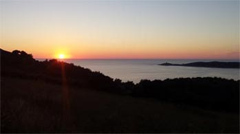 agrandir coucher de soleil